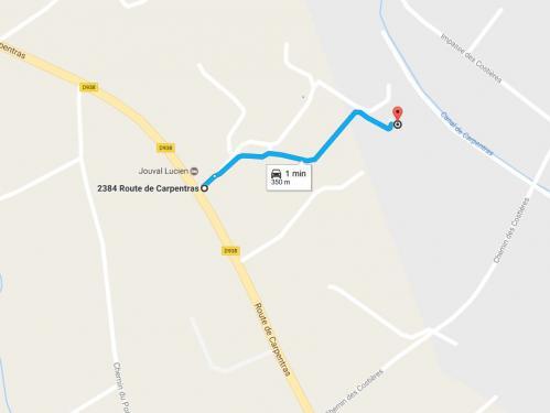 Itineraire maison 2